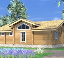 изображение проекта дома Проект дома из клееного бруса Старо-Никольское