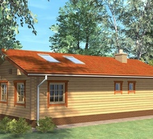 изображение проекта дома Проект дома из клееного бруса Ватутинки