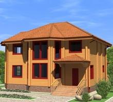 изображение проекта дома Проект дома из клееного бруса Южное бутово