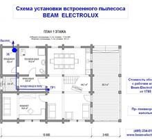 изображение проекта дома Проект дома из клееного бруса Жостово-2