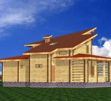изображение проекта дома Проект дома из клееного бруса Оригами