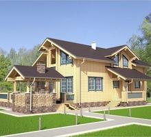 изображение проекта дома Проект дома из клееного бруса Виола