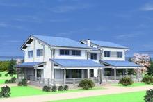 изображение проекта дома Проект дома из клееного бруса Алексино Джулия-1