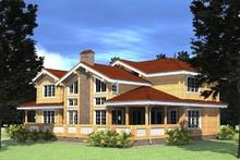 изображение проекта дома Проект дома из клееного бруса Александровка 2