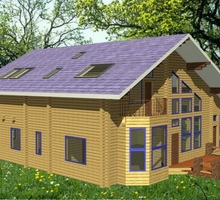 изображение проекта дома Проект дома из клееного бруса Аристово