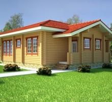 изображение проекта дома Проект дома из клееного бруса Атлантида