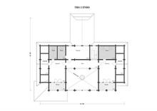 изображение проекта дома Проект дома из клееного бруса Август