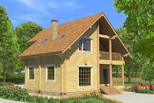 изображение проекта дома Проект дома из клееного бруса Барское – 2