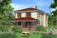 изображение проекта дома Проект дома из клееного бруса Беляниново