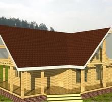 изображение проекта дома Проект дома из клееного бруса Булатово