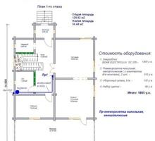 изображение проекта дома Проект дома из клееного бруса Чернево