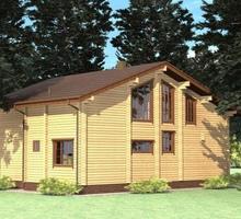 изображение проекта дома Проект дома из клееного бруса Дедовск
