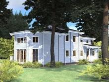 изображение проекта дома Проект гостевого дома из клееного бруса Европа