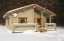 изображение проекта дома Проект дома из клееного бруса Финляндия – 79