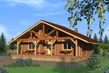 изображение проекта дома Проект дома из клееного бруса Фоминское