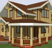 изображение проекта дома Проект дома из клееного бруса Фореста