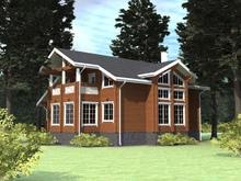 изображение проекта дома Проект дома из клееного бруса Хотебцово
