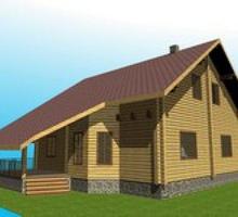 изображение проекта дома Проект дома из клееного бруса Хотьково