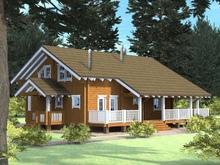 изображение проекта дома Проект дома из клееного бруса Кельт