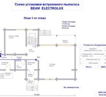 изображение проекта дома Проект дома из клееного бруса Киселёво