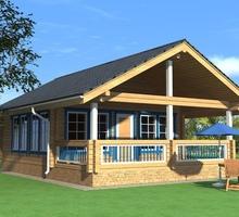 изображение проекта дома Проект дома из клееного бруса Клязьма