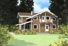 изображение проекта дома Проект дома из клееного бруса Красивая Земля