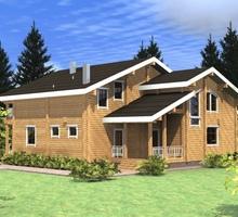 изображение проекта дома Проект дома из клееного бруса Красная поляна