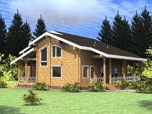 изображение проекта дома Проект дома из клееного бруса Красная поляна-2