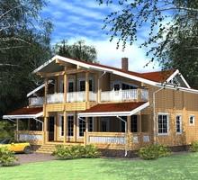 изображение проекта дома Проект дома из клееного бруса Крюково