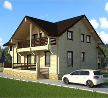 изображение проекта дома Проект дома из клееного бруса Софрино