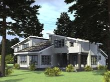 изображение проекта дома Проект дома из клееного бруса Квартал