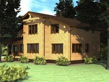 изображение проекта дома Проект дома из клееного бруса Ладья