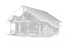 изображение проекта дома Проект дома из клееного бруса Лесные Дали