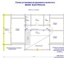 изображение проекта дома Проект дома из клееного бруса Малаховка