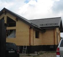 изображение проекта дома Проект дома из клееного бруса Марино-2