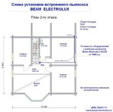 изображение проекта дома Проект дома из клееного бруса Морозово