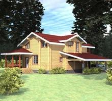 изображение проекта дома Проект дома из клееного бруса Можайское море