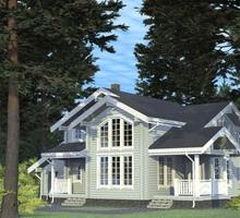 изображение проекта дома Проект дома из клееного бруса Мячково