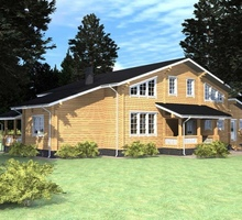 изображение проекта дома Проект дома из клееного бруса Нара-шале