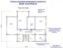 изображение проекта дома Проект дома из клееного бруса Одинцово