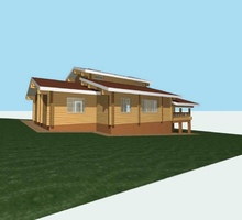 изображение проекта дома Проект дома из клееного бруса Паритет