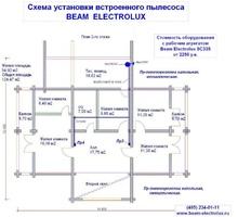 изображение проекта дома Проект дома из клееного бруса Павлов Посад