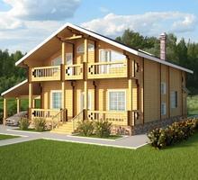 изображение проекта дома Проект дома из клееного бруса Пирогово