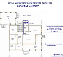 изображение проекта дома Проект дома из клееного бруса Радонеж-2