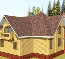 изображение проекта дома Проект дома из клееного бруса Саморядово