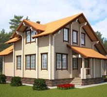 изображение проекта дома Проект дома из клееного бруса Сбаро