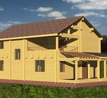 изображение проекта дома Проект дома из клееного бруса Чехов – 263