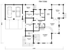 изображение проекта дома Проект дома из клееного бруса Швеция