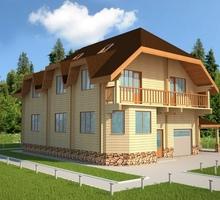 изображение проекта дома Проект дома из клееного бруса Славянка