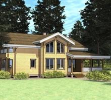 изображение проекта дома Проект дома из клееного бруса Сосновый Аромат